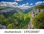 Canyon Of Verdon River  France.