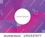 abstract colorful  background... | Shutterstock .eps vector #1592537077
