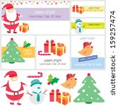 Santa Surprise Clip Art And...