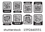 Scan Me Template Set With Qr...