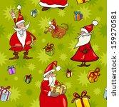 seamless pattern cartoon... | Shutterstock . vector #159270581