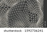 abstract science or technology... | Shutterstock .eps vector #1592736241