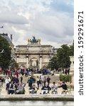 paris   june 13  2012  local... | Shutterstock . vector #159291671