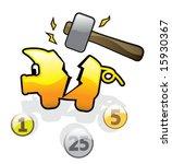 Hammered Piggybank