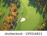 Aerial View Of Minnesota Golf...