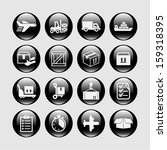delivery icons for web | Shutterstock .eps vector #159318395