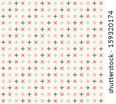 Seamless Modern Geometric Polka ...