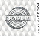 nostalgia grey emblem. vintage...   Shutterstock .eps vector #1593210844