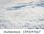 thick clouds in heaven ...   Shutterstock . vector #1593297667