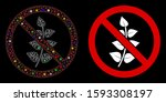 glossy mesh no flora plant icon ... | Shutterstock .eps vector #1593308197