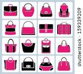 Bag Set  Pink Theme