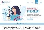 landing page advertising... | Shutterstock .eps vector #1593442564