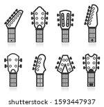Vector Illustration Of Guitar...