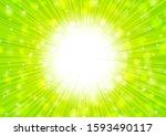 green radial glitter abstract... | Shutterstock . vector #1593490117