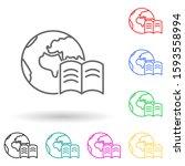 world book multi color style...