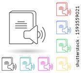 sound book multi color style...