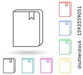 book with a bookmark multi...