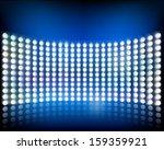 wall of lights. vector...   Shutterstock .eps vector #159359921