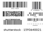 line barcode collection.... | Shutterstock .eps vector #1593640021