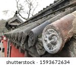 Part Of Roof In Shaolin Temple...