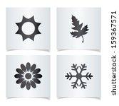 Vector Season Icons.