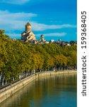 view of sameba church and kura... | Shutterstock . vector #159368405