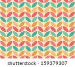 Stock vector seamless geometric pattern background 159379307