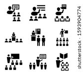 learning icon isolated sign... | Shutterstock .eps vector #1593904774
