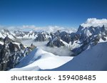 Mont Blanc Massif In The Frenc...
