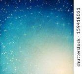 night sky | Shutterstock . vector #159418031