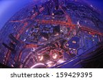 dubai city skyline   main road... | Shutterstock . vector #159429395