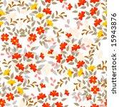 editable vector seamless tile... | Shutterstock .eps vector #15943876