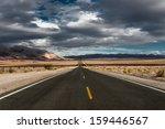 Stormy Desert Highway