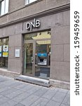 Small photo of VILNIUS, LITHUANIA - OCTOBER 14: DNB BANK on October 14, 2013 in Vilnius, Lithuania.