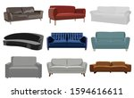 set of sofa. collection of sofa ...   Shutterstock .eps vector #1594616611
