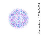 colorful circle pattern... | Shutterstock . vector #1594654054