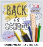 vector background with... | Shutterstock .eps vector #159481421