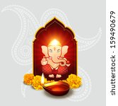 Beautiful Indian God Ganesha...