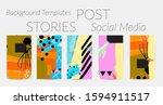 social media story templates.... | Shutterstock .eps vector #1594911517