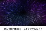 abstract space background with... | Shutterstock .eps vector #1594943347
