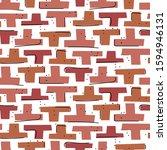 hand drawn mosaic block shapes...   Shutterstock .eps vector #1594946131