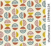 circle and line shapes abstract ...   Shutterstock .eps vector #1594946134