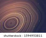 Wavy Light Rings With Small...
