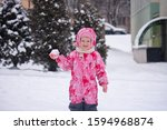 A Happy Smiling Girl In Winter...
