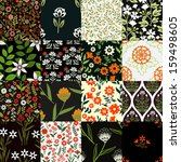 Seamless Patterns Set With...