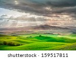Tuscany  Rural Sunset Landscap...