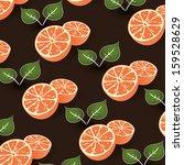 Citrus Background - stock photo