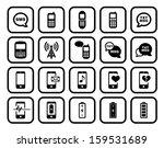cell phone   mobile phone... | Shutterstock . vector #159531689