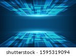 abstract wallpapers  connection ... | Shutterstock .eps vector #1595319094