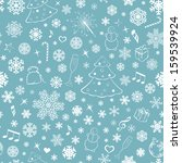 seamless pattern with... | Shutterstock .eps vector #159539924